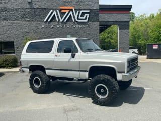 1990 Chevrolet Blazer Base 2dr 4WD SUV