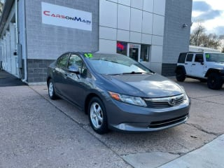2012 Honda Civic Natural Gas