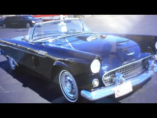 1956 Ford Thunderbird 2dr Convertible Deluxe