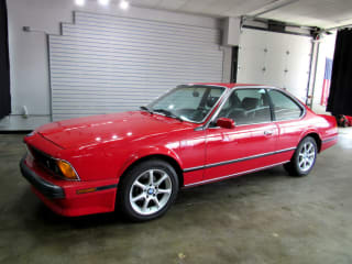 1989 BMW 6 Series 633CSi