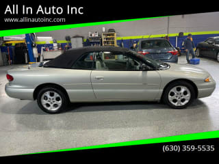 2000 Chrysler Sebring JXi Limited