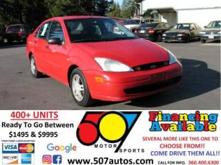 2002 Ford Focus SE Comfort
