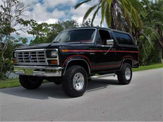 1984 Ford Bronco Base