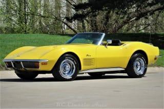 1972 Chevrolet Corvette Highly Optioned LS5 454 Big Block convertible.