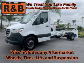 2019 Mercedes-Benz Sprinter Cab Chassis 4500