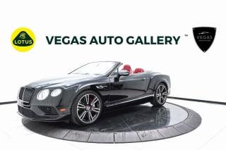 2016 Bentley Continental GTC V8 S GT V8 S