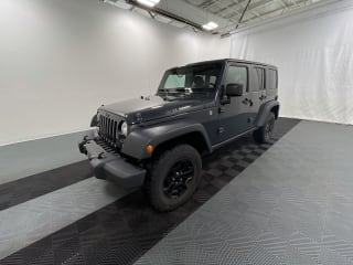 2018 Jeep Wrangler Unlimited Willys Wheeler