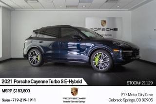 2021 Porsche Cayenne Turbo S E-Hybrid