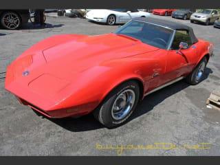 1973 Chevrolet Corvette 454/275hp Convertible