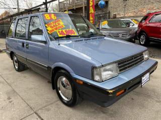 1986 Nissan Stanza XE