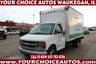 2002 Chevrolet Express 3500 2dr Commercial/Cutaway/Chassis 139 177 in. WB