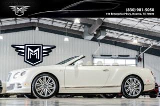 2015 Bentley Continental GTC Speed GT Speed