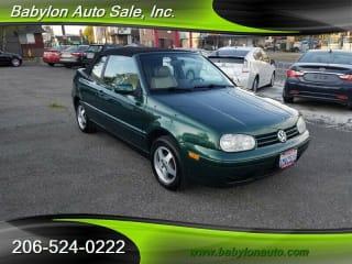 1999 Volkswagen Cabrio NEW GLS