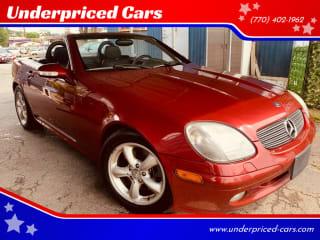 2001 Mercedes-Benz SLK SLK 320