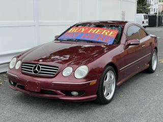 2002 Mercedes-Benz CL-Class CL 55 AMG