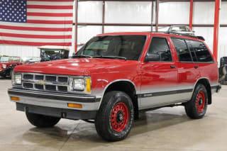 1992 Chevrolet S-10 Blazer Tahoe