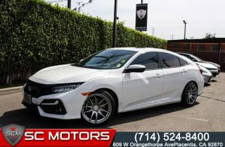 2020 Honda Civic Si w/Summer Tires
