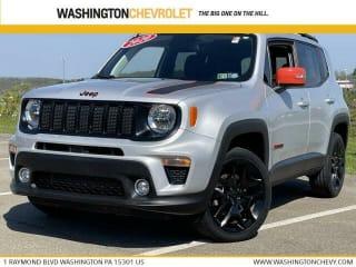 2020 Jeep Renegade Orange Edition