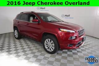 2016 Jeep Cherokee Overland