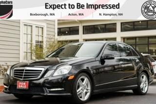 2013 Mercedes-Benz E-Class E 550 4MATIC