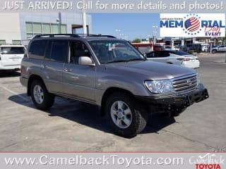 2005 Toyota Land Cruiser Base
