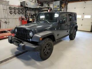 2018 Jeep Wrangler Unlimited Willys Wheeler W