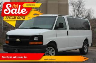 2009 Chevrolet Express Passenger LT 1500