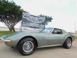 1972 Chevrolet Corvette Coupe #'s Matching, 4-Spd, PS, PB, A/C, Delco, 62k
