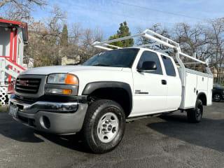 """2006 GMC Sierra 2500 Ext Cab 157.5"""" WB 2WD Work Truck"""