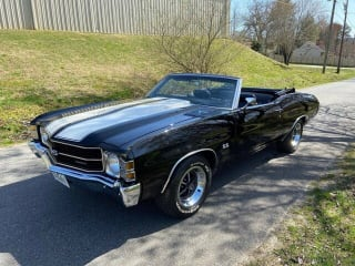 1971 Chevrolet Chevelle Ss Convertible - Frame off Restoration