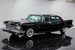 1958 Chrysler Imperial Limousine by Ghia