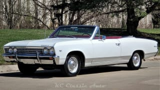 1967 Chevrolet Chevelle Malibu Loaded Convertible with AC