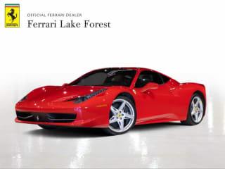 2012 Ferrari 458 Italia Base