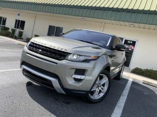 2012 Land Rover Range Rover Evoque Coupe
