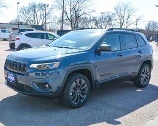 2021 Jeep Cherokee 80th Anniversary Edition