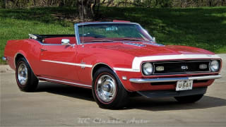 1968 Chevrolet Camaro Numbers Matching SS Convertible