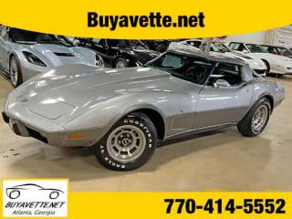 1978 Chevrolet Corvette Silver Anniversary Coupe 4 Speed